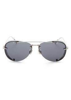 Christian Dior Dior Men's Chroma Brow Bow Aviator Sunglasses, 60mm