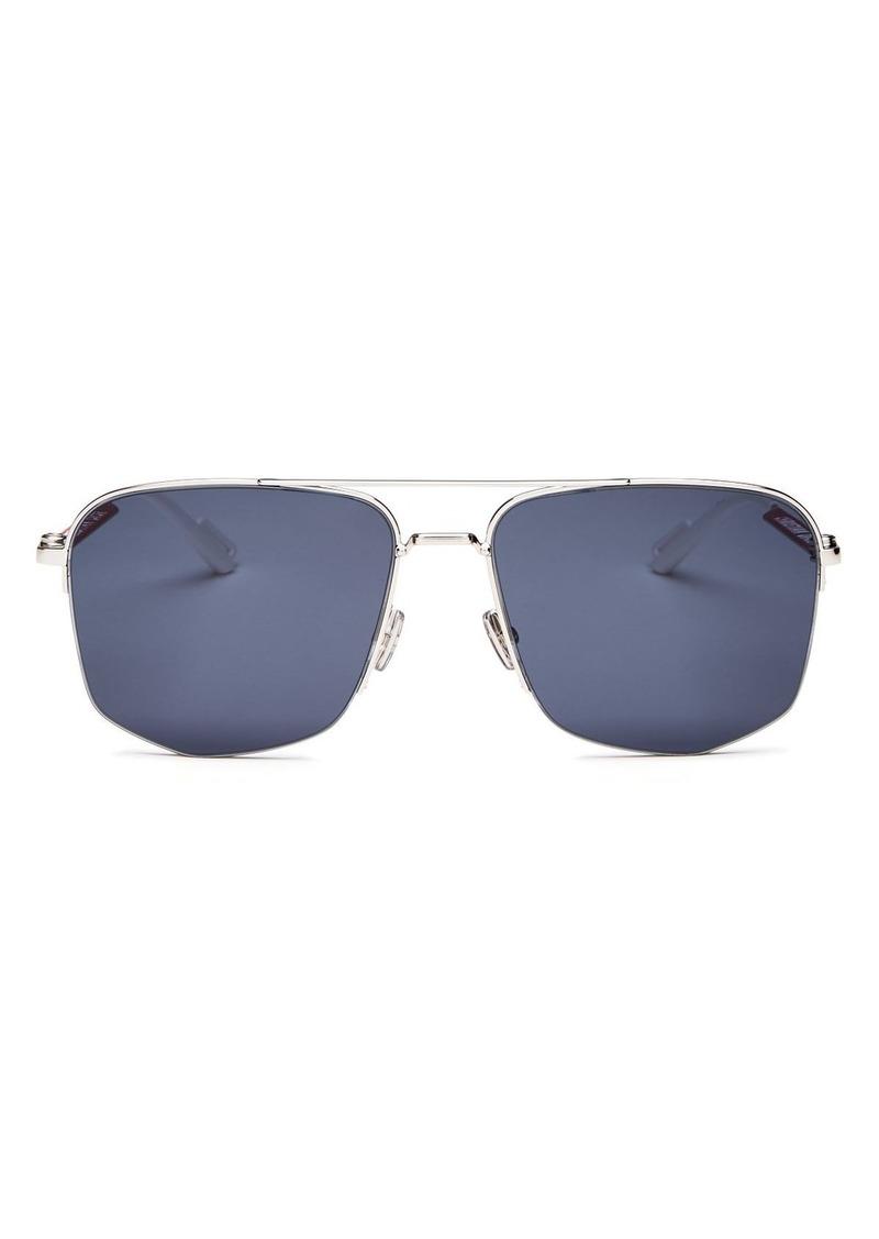 Christian Dior Dior Men's Dior180 Brow Bar Aviator Sunglasses, 60mm