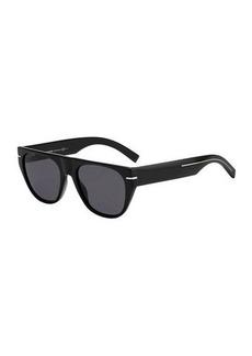 Christian Dior Dior Men's Flat-Top Acetate Sunglasses