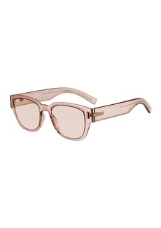 Christian Dior Dior Men's Fraction 3 Rectangular Nylon Sunglasses