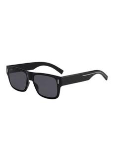 Christian Dior Dior Men's Fraction 4 Flat-Top Nylon Sunglasses