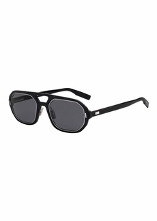 Christian Dior Dior Men's Octagonal Metal-Trim Sunglasses