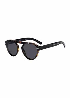 Christian Dior Dior Men's Round Clipped Optyl® Sunglasses
