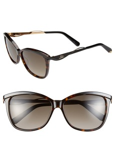Dior Metaleyes 2 57mm Retro Sunglasses