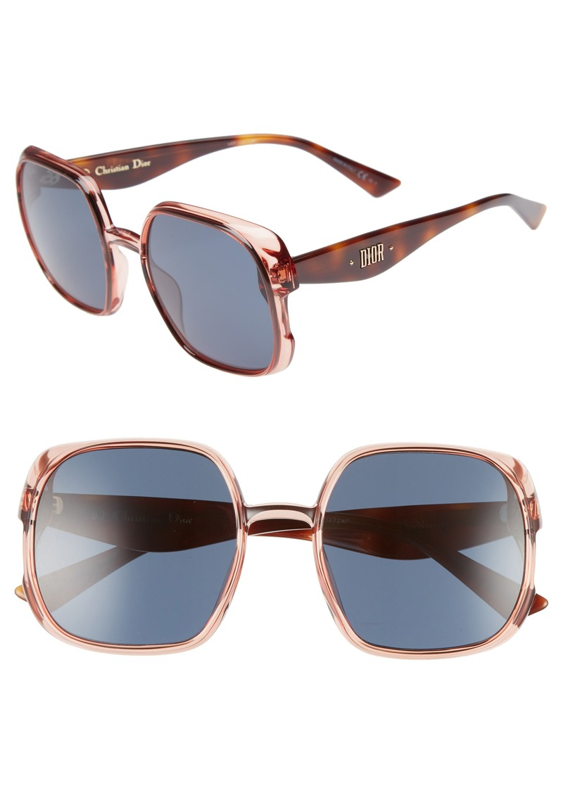 21320e9e2f3 Christian Dior Dior Nuance 56mm Square Sunglasses