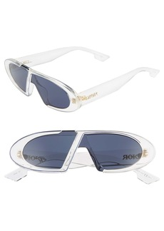 Christian Dior Dior Obliques 45mm Square Sunglasses