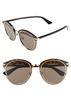 Christian Dior Dior Offset 62mm Round Sunglasses