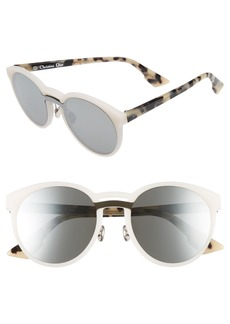 Dior Onde 50mm Rounded Sunglasses