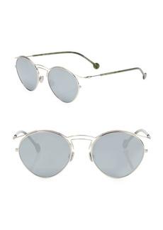 Christian Dior Dior Origins 1 53MM Mirrored Round Sunglasses