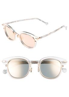Christian Dior Dior Origins 1 53mm Round Sunglasses