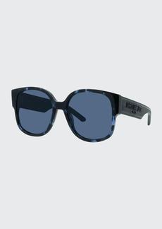 Christian Dior Dior Oversized Square Acetate Sunglasses