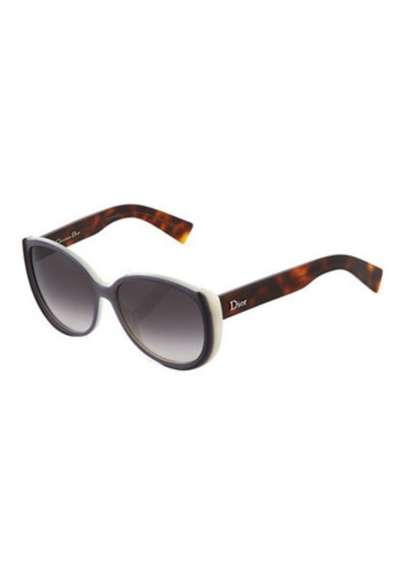 5da51ef50e17 SALE! Christian Dior Dior Plastic Cat-Eye Sunglasses
