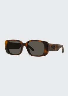 Christian Dior Dior Rectangular Acetate Sunglasses