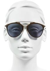 Christian Dior Dior Reflected 52mm Brow Bar Sunglasses
