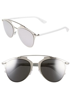 Christian Dior Dior Reflected 52mm Brow Bar Sunglasses