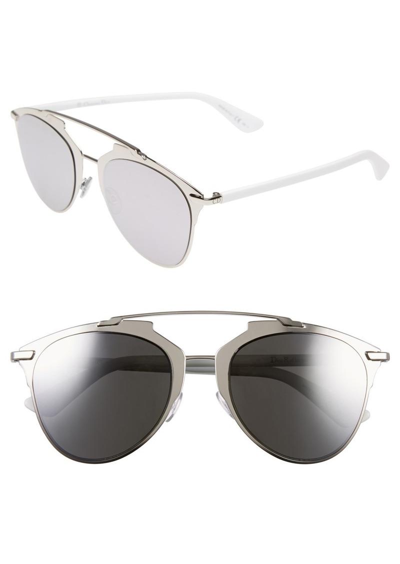 79a1490140f9 Christian Dior Dior Reflected 52mm Brow Bar Sunglasses