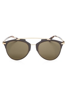 4a7f5a722f Christian Dior Dior Women s Reflected Mirrored Brow Bar Aviator Sunglasses