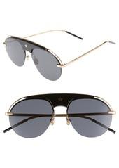 Christian Dior Dior Revolution 58mm Aviator Sunglasses