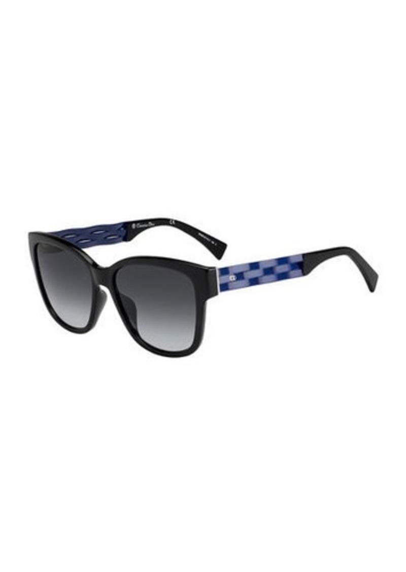 Christian Dior Dior Ribbon1 Square Two-Tone Sunglasses