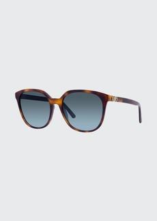 Christian Dior Dior Round Acetate Sunglasses