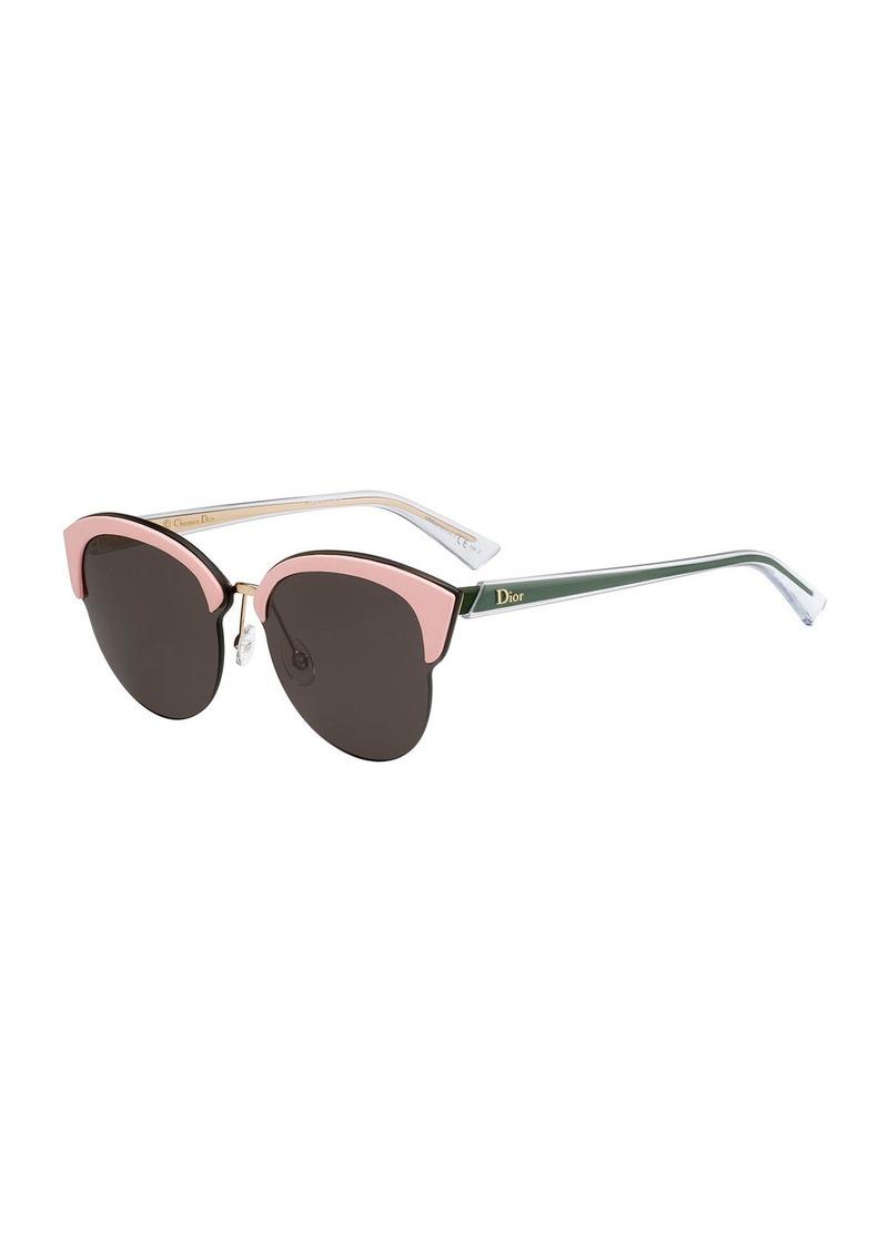 0e971563ed9e On Sale today! Christian Dior Dior Run Capped Cat-Eye Sunglasses ...