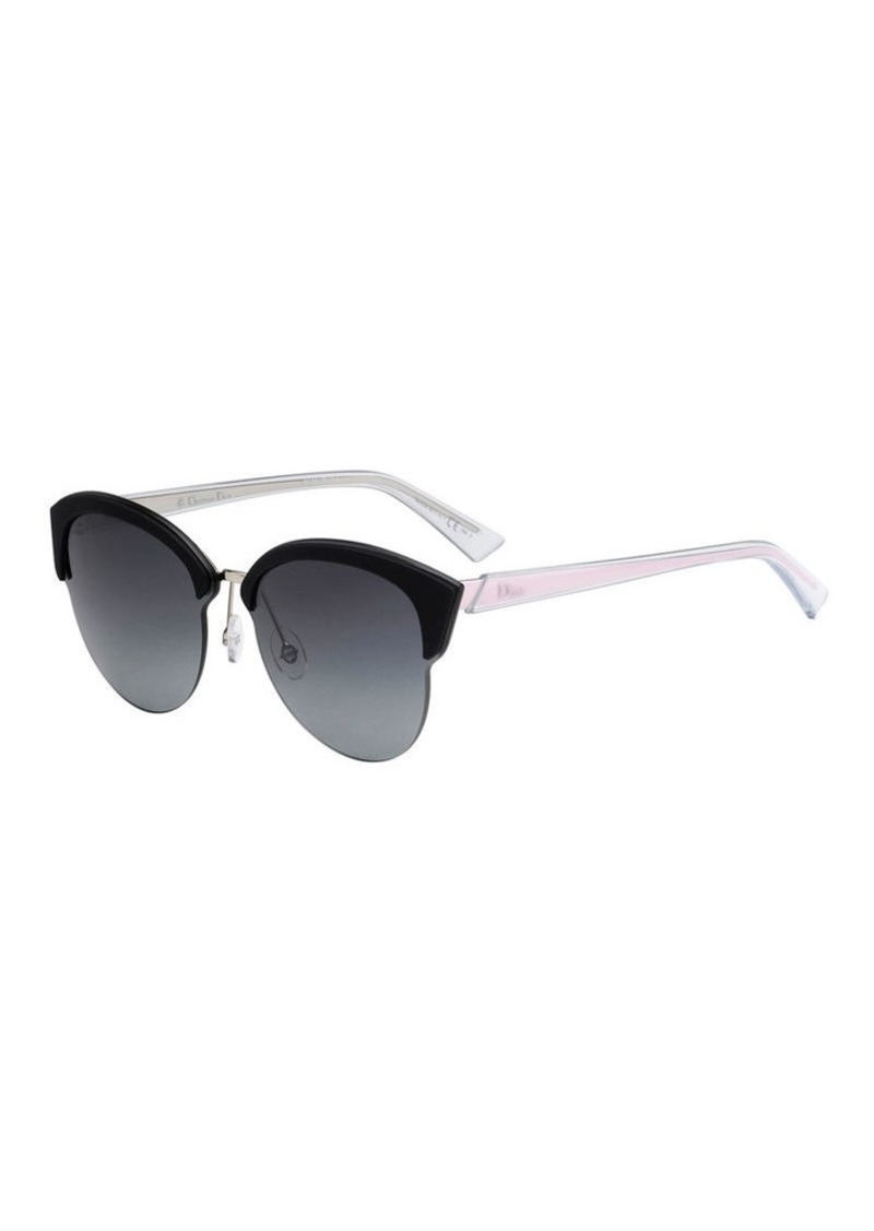 53f46e6360 Christian Dior Dior Run Capped Cat-Eye Sunglasses