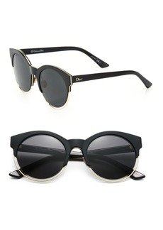 Christian Dior Sideral 53MM Round Sunglasses