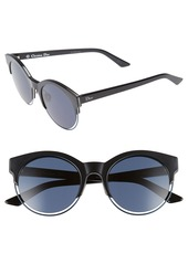 Christian Dior Dior Siderall 1 53mm Round Sunglasses