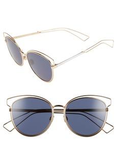 Dior Siderall 2 56mm Round Sunglasses