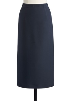 Christian Dior Dior Silk Wool Midi Pencil Skirt