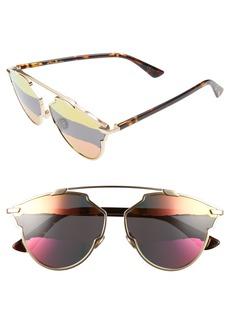 Dior So Real 59mm Brow Bar Sunglasses