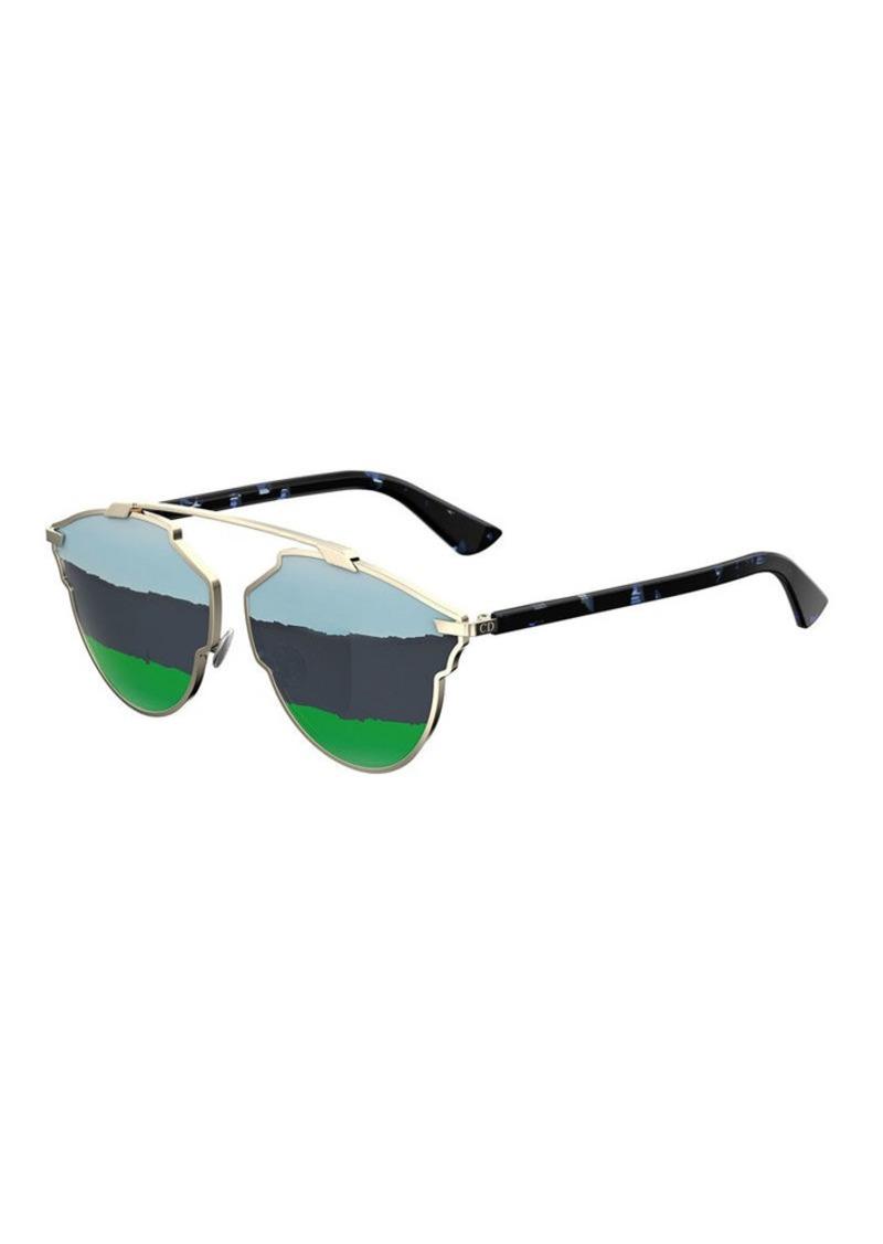028235f88d Christian Dior Dior So Real Mirrored Rip Sunglasses