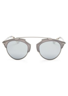 Christian Dior Dior So Real Mirrored Sunglasses, 48mm