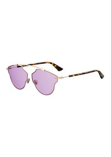 So Real Pop Monochromatic Sunglasses