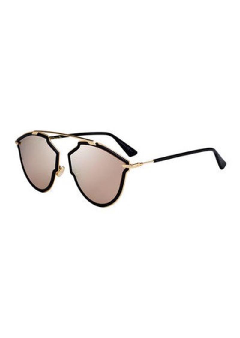 Christian Dior Dior So Real Riss Mirrored Sunglasses