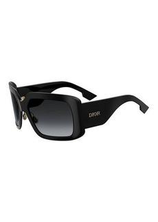 Christian Dior Dior SoLight Chunky Rectangle Sunglasses