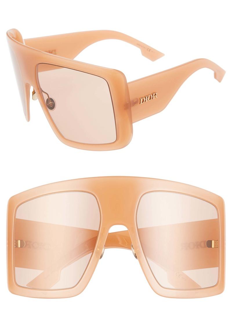 Christian Dior Dior Solight1S 60mm Shield Sunglasses
