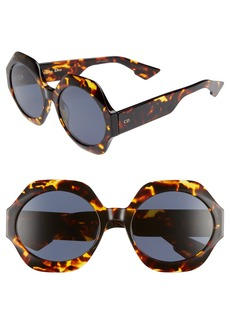 Christian Dior Dior Spirit1 58mm Geometric Sunglasses
