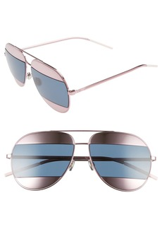 Christian Dior Dior Split 59mm Aviator Sunglasses
