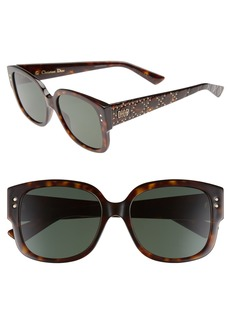 Dior Square 54mm Sunglasses