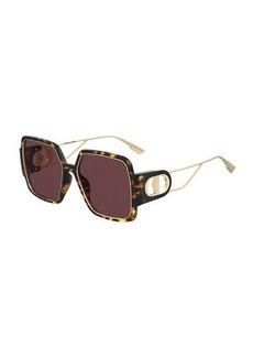 Christian Dior Dior Square Grilamid Nylon Sunglasses