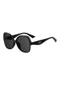 Christian Dior Dior Square Monochromatic Sunglasses