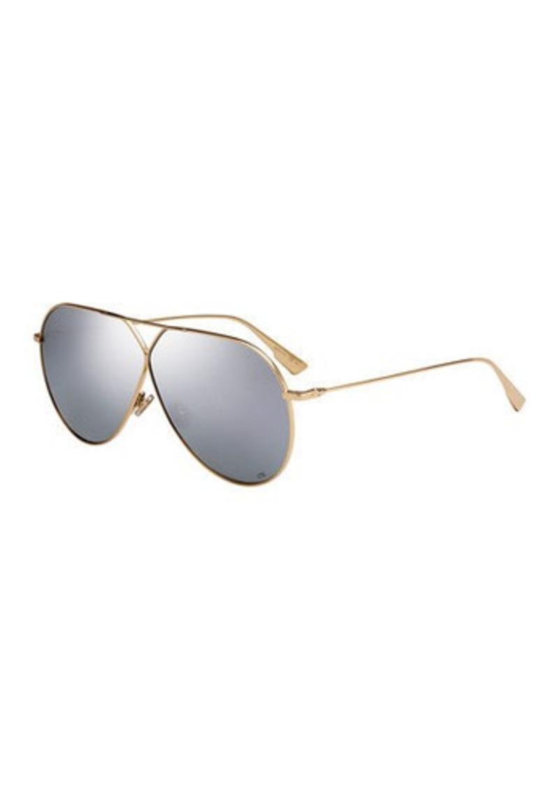Christian Dior Dior Stell3 Mirrored Aviator Sunglasses