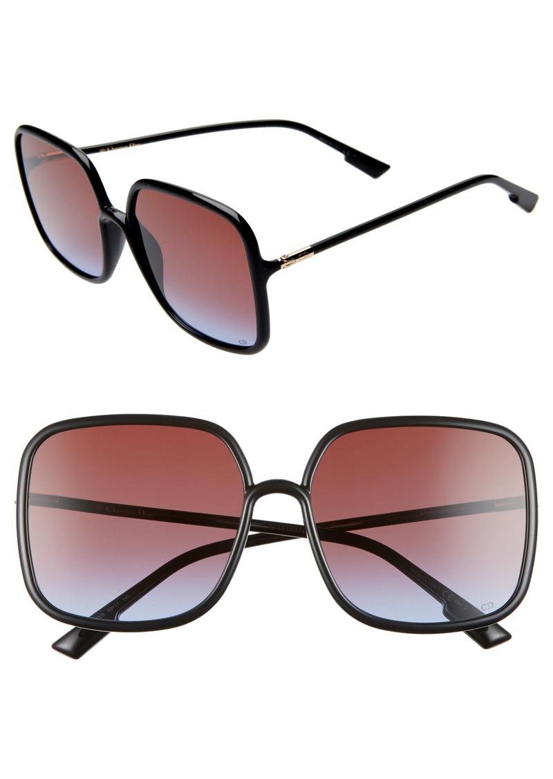 Christian Dior Dior Stellair 59mm Square Sunglasses