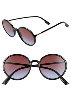 Christian Dior Dior Stellair2S 52mm Round Sunglasses