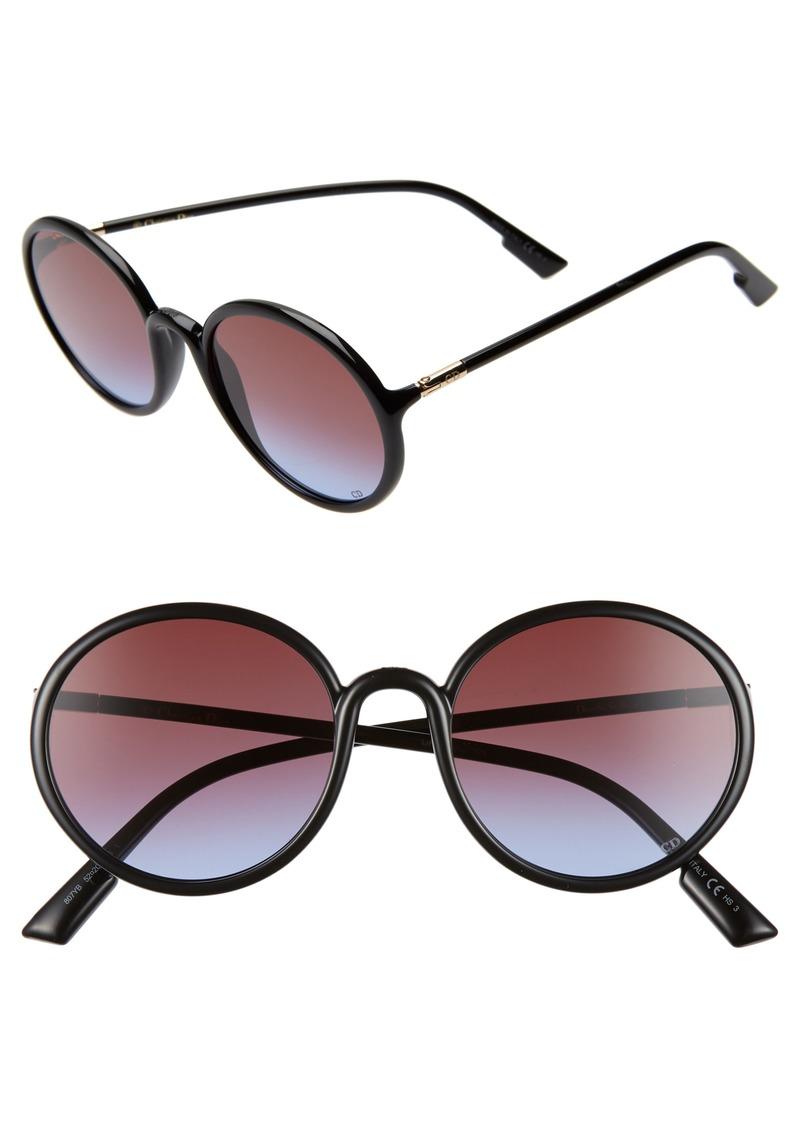 Christian Dior Dior Stellair2S 52mm Round Sunglasses