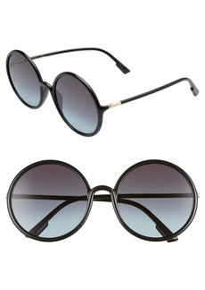 Christian Dior Dior Stellair3s 59mm Round Sunglasses