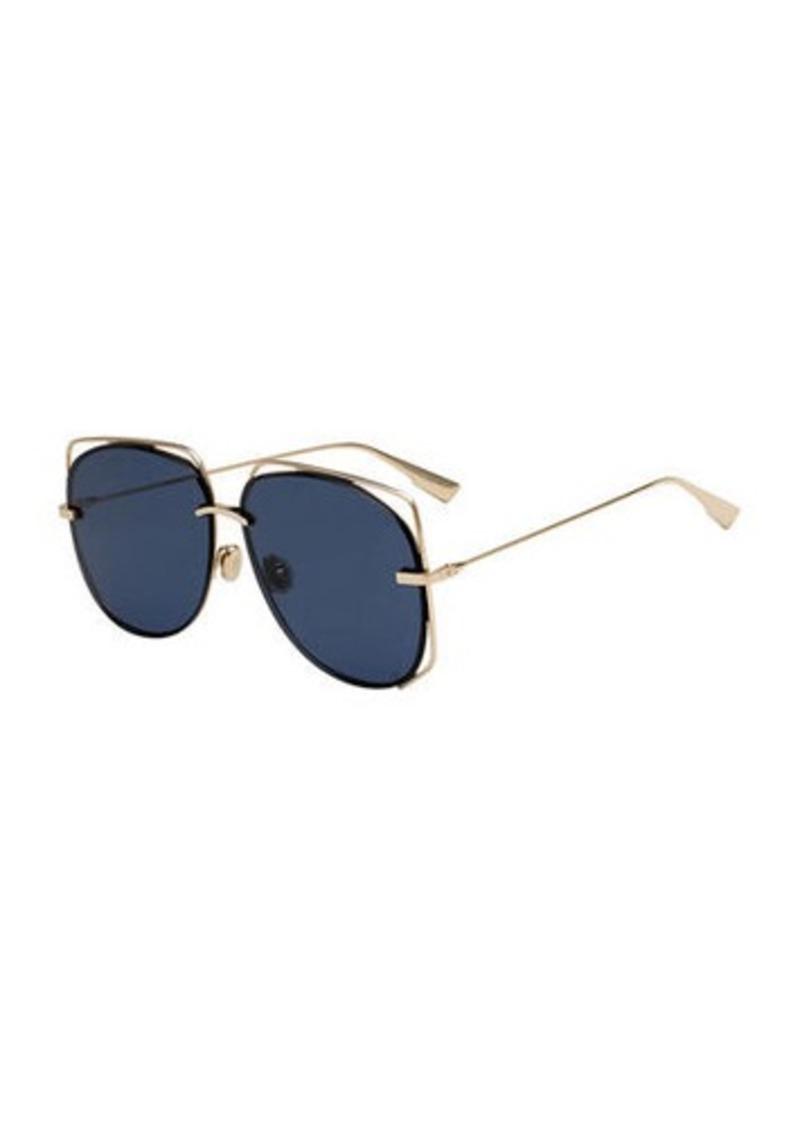 Christian Dior Dior Stellair6 Square Metal Cutout Sunglasses