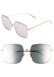 Dior Stellaire 1 59mm Square Sunglasses
