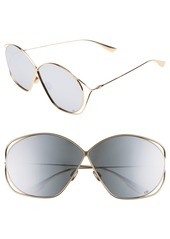 Christian Dior Dior Stellaire 2 68mm Oversize Butterfly Sunglasses